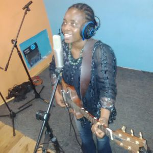 Yours truly,earlier today in the Studio.