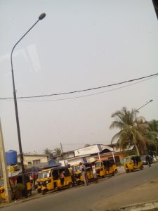 You can never get tired of the keke marwa in Eko.
