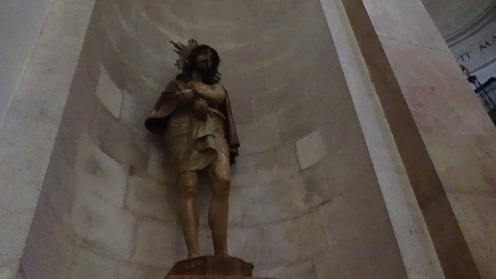 Another statue in the church.