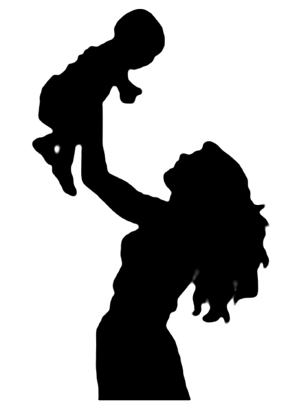 baby step silhouette
