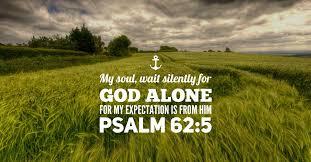 psalm 62;5
